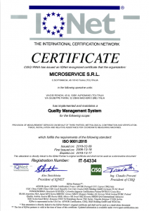 certificato IGNet