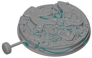 Meccanismo di orologio opacizzato con AESUB :::Microservice
